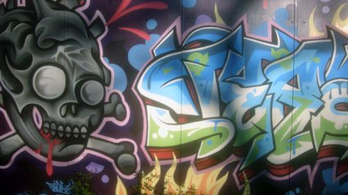 Skull Graffiti   Sydney, Australia