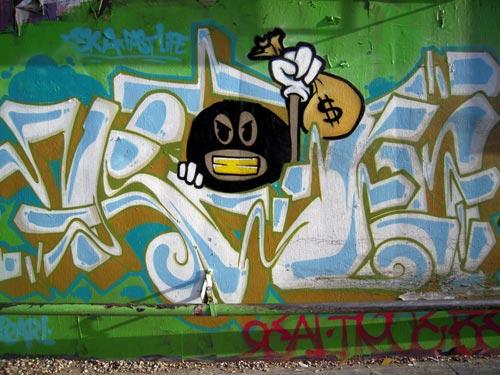 SKA Past Life Graffiti   Los Angeles, California
