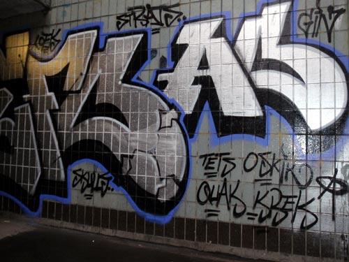 AO Graffiti   Manchester, England