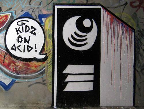 Kidz On Acid Graffiti